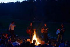 Lieder am Lagerfeuer