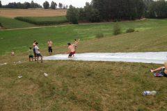 Jedes Jahr ein Hit: die Wasserrutsche